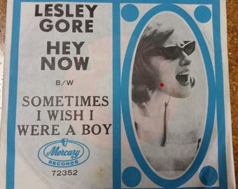 """Lesley Gore - Hey Now (7"""", Single)  Near Mint 45 record"""