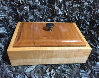 Tiger maple and Cherry Box