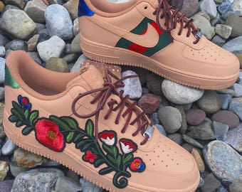Custom Gucci Flower Air Force One Low