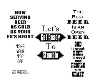 Beer Sayings SVG