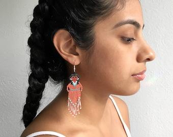 Coral Muñeca Earrings (Large)