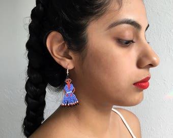 Lavender Muñeca Earrings (Small)