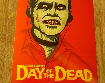 Day of the dead metal movie poster