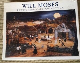 Will Moses Bewitching Card Collection 24 blank cards 4 patterns