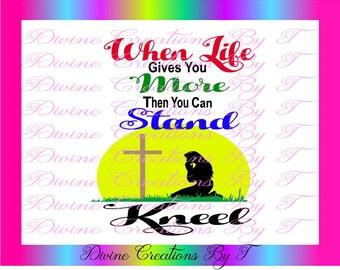 Kneel SVG