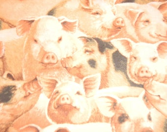 Farm Pigs by Fabric Traditions