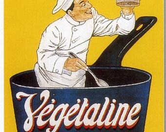 Vegetaline Vintage French Poster Print
