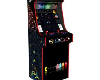 PacMan Theme Classic Upright Arcade Machine with 520 Games