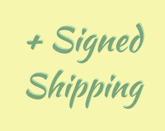 Shipping Fee - Royal Mail Signed For
