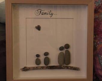 Pebble photo frame