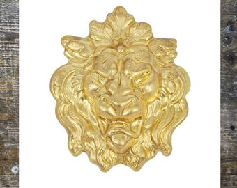 Lion findings Lev Jewelry Findings Brass Stamping (1 pc)