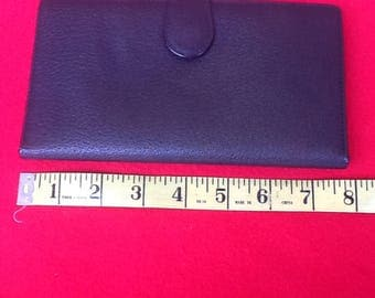 Gucci Authentic Black Leather Trifold Wallet