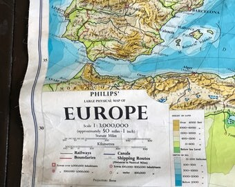 Vintage Map of Europe