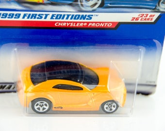 Hot Wheels 1999 First Editions Chrysler Pronto 23 1/64 Diecast