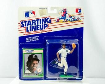 Starting Lineup 1989 Rickey Henderson Action Figure New York Yankees