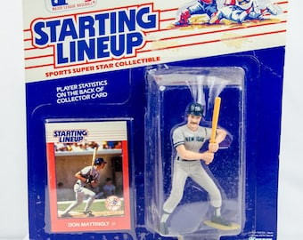 Starting Lineup 1988 Don Mattingly Action Figure New York Yankees
