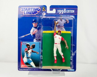 Starting Lineup 1998 Deion Sanders Action Figure Cincinnati Reds