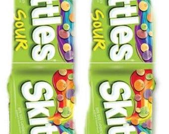 Sour Skittles Socks