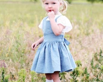 Toddler Pinafore Dress