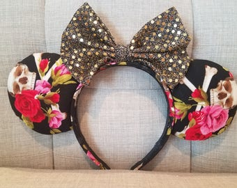 Pirate Roses Mickey Ears