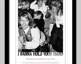 I Wanna Hold Your Hand Movie Creative Briefs Poster Art Print on Canvas Home Wall Decor