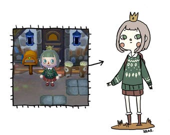 Your Animal Crossing character!