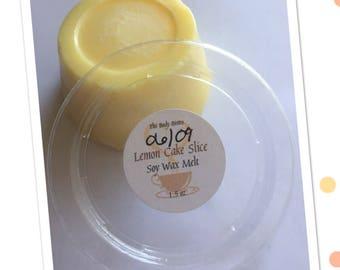 Lemon Cake Slice Soy Wax Melts - 1.5oz