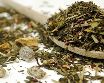 Dragon Fruit Exotic Premium Green and White Tea - Loose Leaf Tea (10g - 100g)