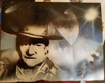 John Wayne #2 (11x14)