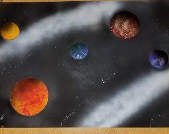 5 planet solar system