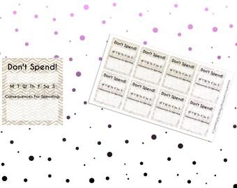 FS02 No Spending Habit Tracker
