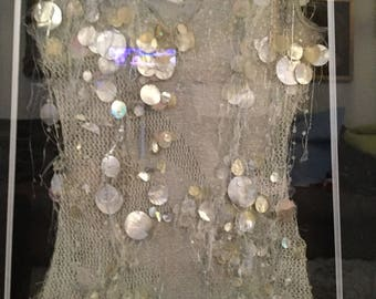 A julian macdonald couture dress designed and made for cerys Matthews from catatonia. A famous welsh designer. SALE