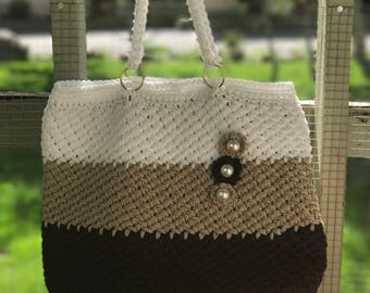 Wonderful knitted bag