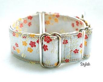 STYLISH - Martingale collar, fancy dog collar, Greyhound collar, Saluki collar, Galgo collar, Whippet collar, sight hound collar, wedding do