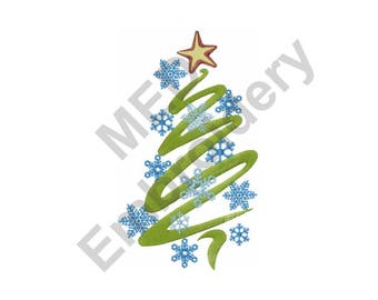 Christmas Tree - Machine Embroidery Design