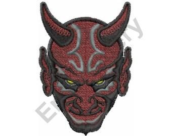 Devil - Machine Embroidery Design