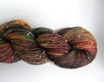 November BFL Tweed Sock Yarn