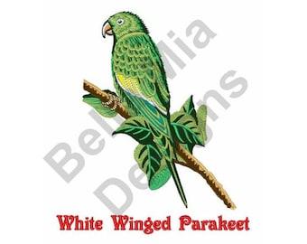 Bird - Machine Embroidery Design, Parakeet