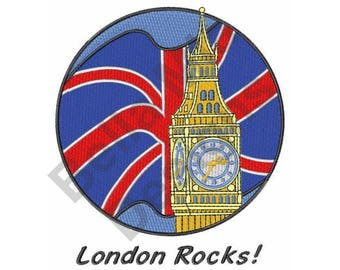 Machine Embroidery Design Big Ben