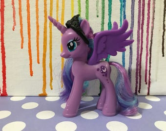 Customized show-accurate MLP FiM Princess Luna figurine