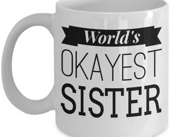 Birthday Gifts For Sister - Gifts For Sister From Brother - Birthday Gift Ideas For Sister - Personalised Sister Gifts