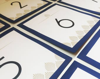 Table Number Cards - table cards table numbers table seating wedding number seating wedding tables table chart number indicators