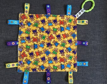 Baby taggie toy