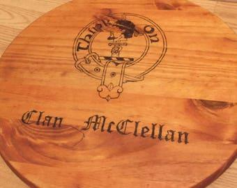 Clan McClellan Cutting board