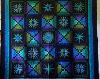 Moon Glow double (full) quilt