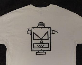 Robot T-shirt, SiFi T-shirt, Robot Head T-shirt