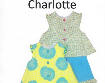 Children's Corner Sewing Pattern #242 / CHARLOTTE / Sizes 1 - 4 and 5 - 8