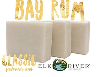 FREE SHIPPING Bay Rum Handmade Soap