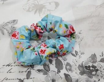 Hair scrunchies, Floral Scrunchie, Scrunchies