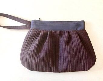 Italian handmade wristlet. Handmade. Wrist clutch. Handmade cluch. Clutch bag.